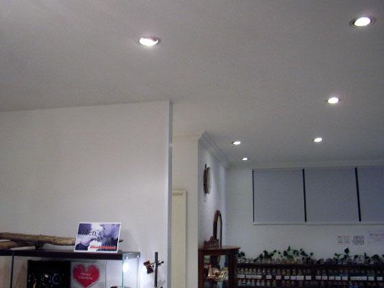 設置事例・LEDスポットライト[アクセサリーショップ]003